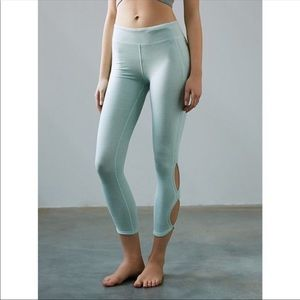 New with tag sea foam yoga pants by free people